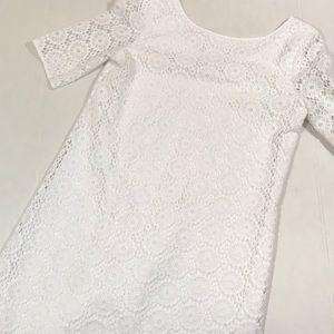 Lilly Pulitzer kids little Topanga crochet dress